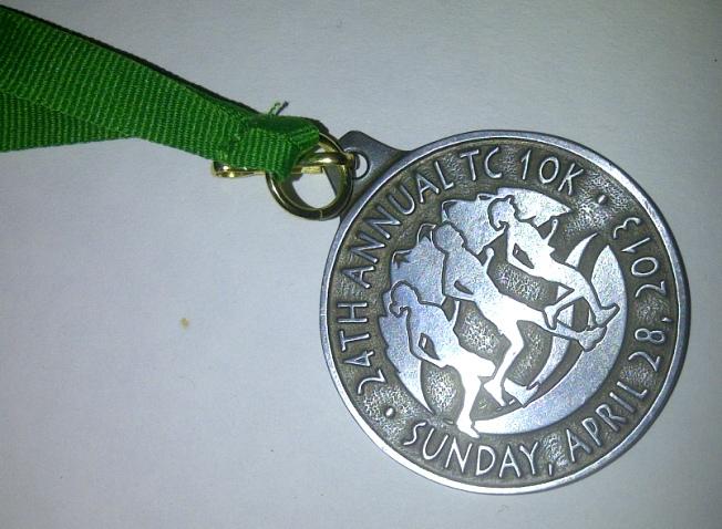 TC10K medal