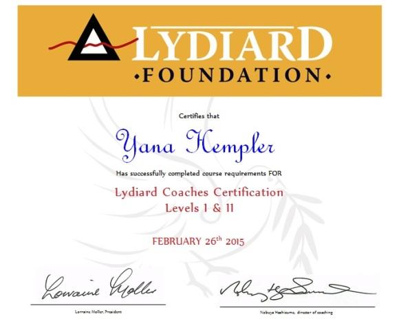 NEW: I\'m a Lydiard Certified Level II Running Coach - Yana\'s Blog ...